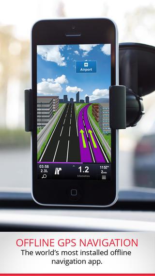 Sygic Europe: GPS Navigation | Nawigacja iOS