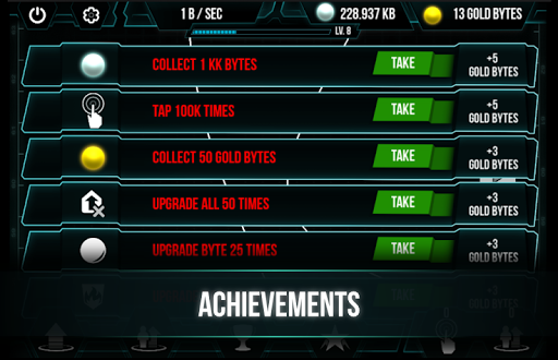 Only Bytes - idle clicker game - Gry Android | Forum GSM 📱
